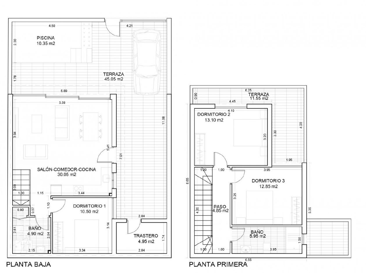 Plano de las Villas